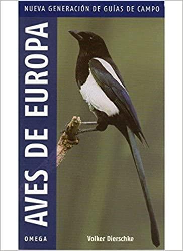 AVES DE EUROPA. V.Dierschke ed. Omega