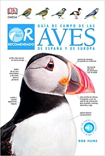 Guía de campo de Aves de España y de Europa de R.Hume ed. Omega