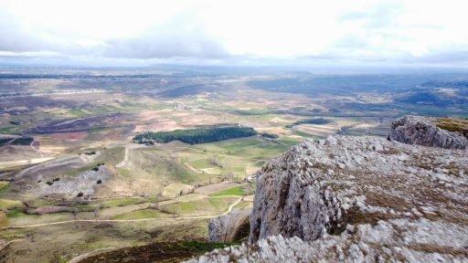 Planicie burgalesa vista desde Amaya